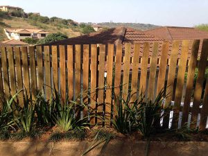 picket and slat fencing