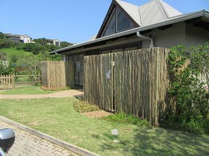 lath fencing and screening